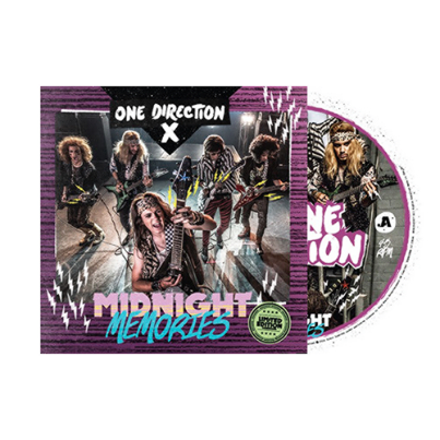 "One Direction anuncia edição especial e limitada de ""Midnight Memories"""