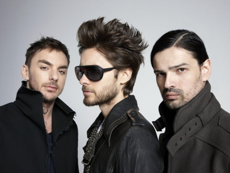 Thirty Seconds to Mars adia shows no Brasil