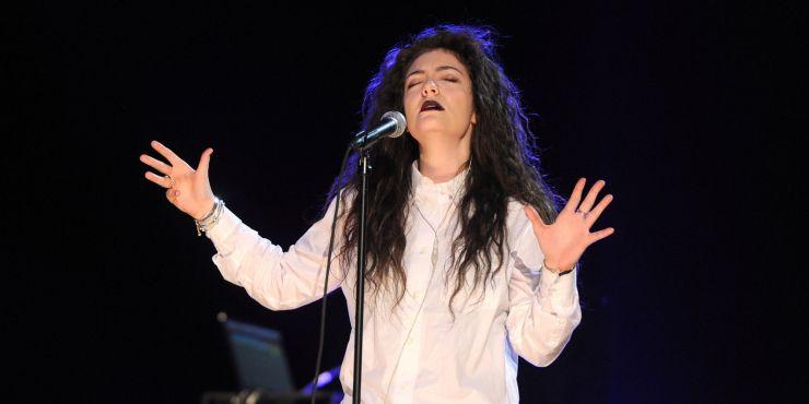 Lorde está trabalhando em novo álbum