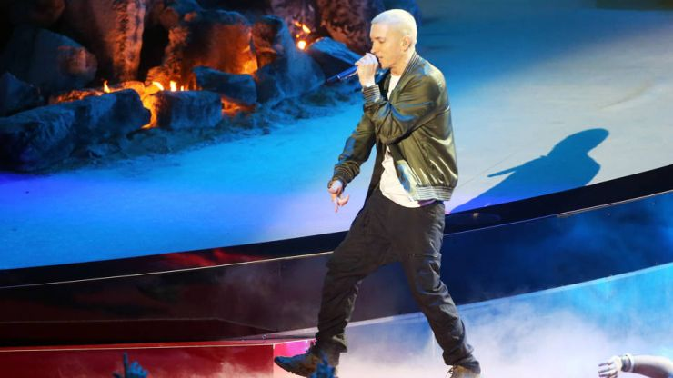 Eminem é cortado de festival