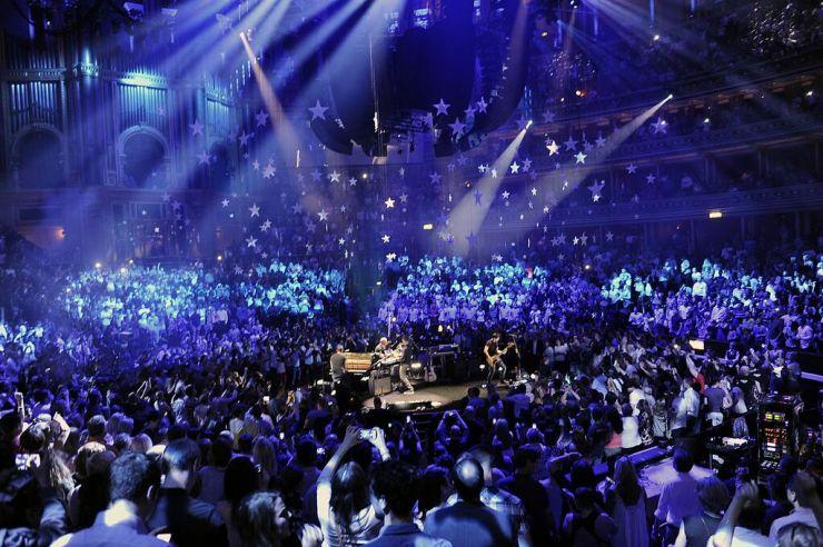 Ouça o show completo de Coldplay no Royal Albert Hall