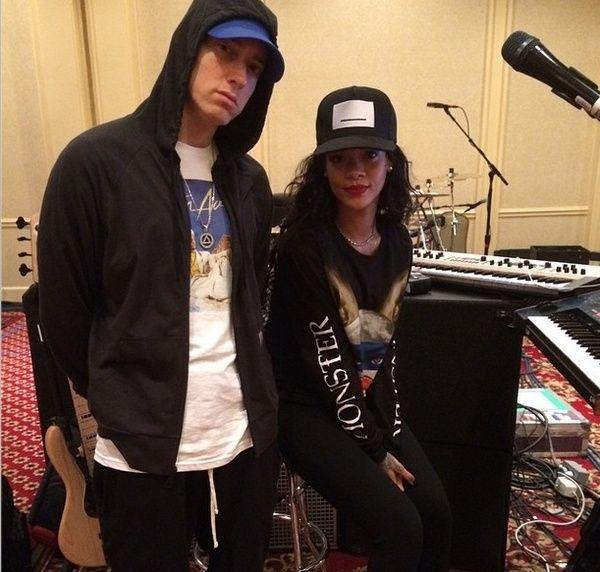 Eminem e RIhanna já estão ensaindo para tour