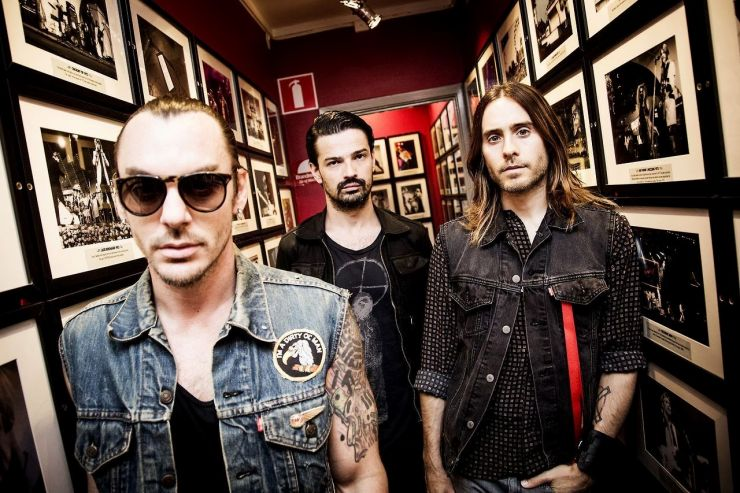 Banda 30 Seconds to Mars anuncia show extra