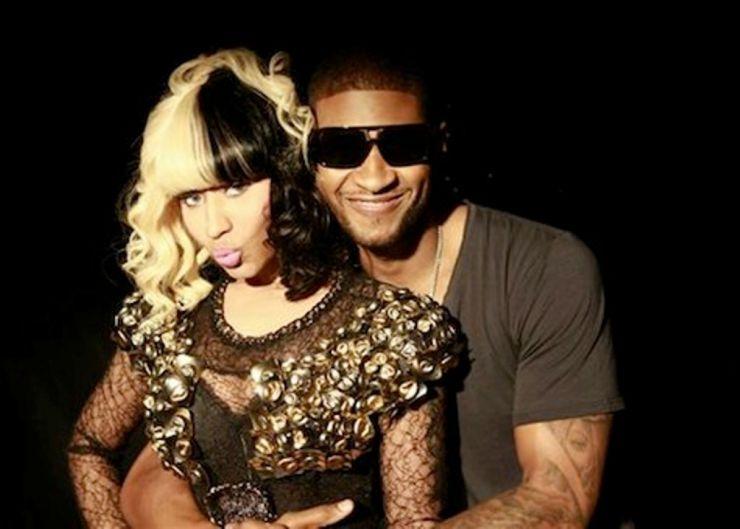 Usher divulga clipe em parceria com Nicki Minaj