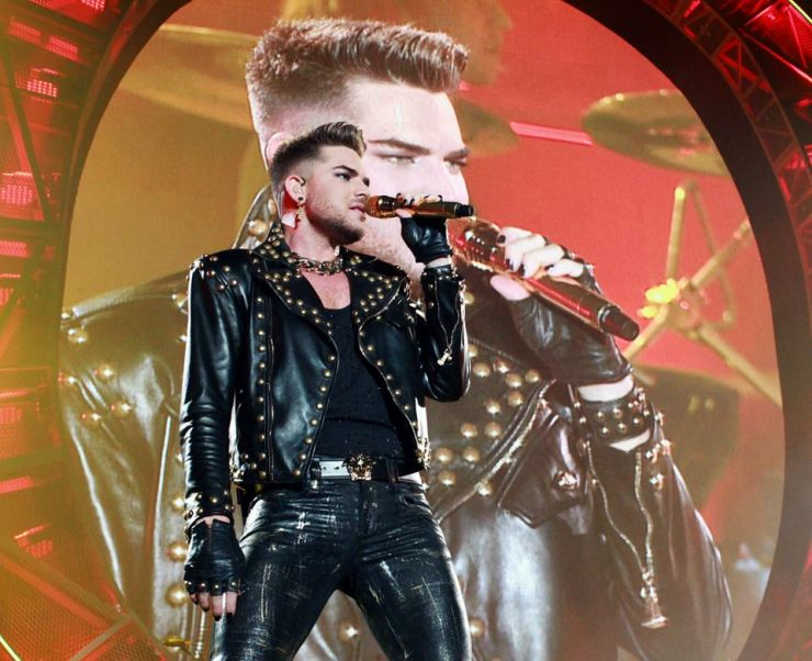 Lady Gaga participa de show do Queen com Adam Lambert