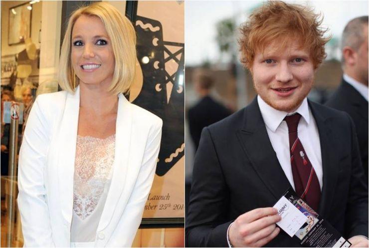 Britney Spears poderá ter música composta por Ed Sheeran