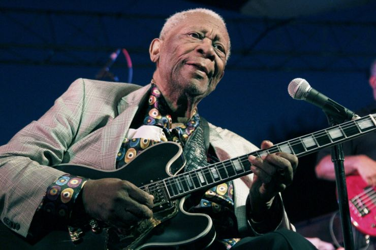 B.B. King passa mal e cancela shows nos Estados Unidos