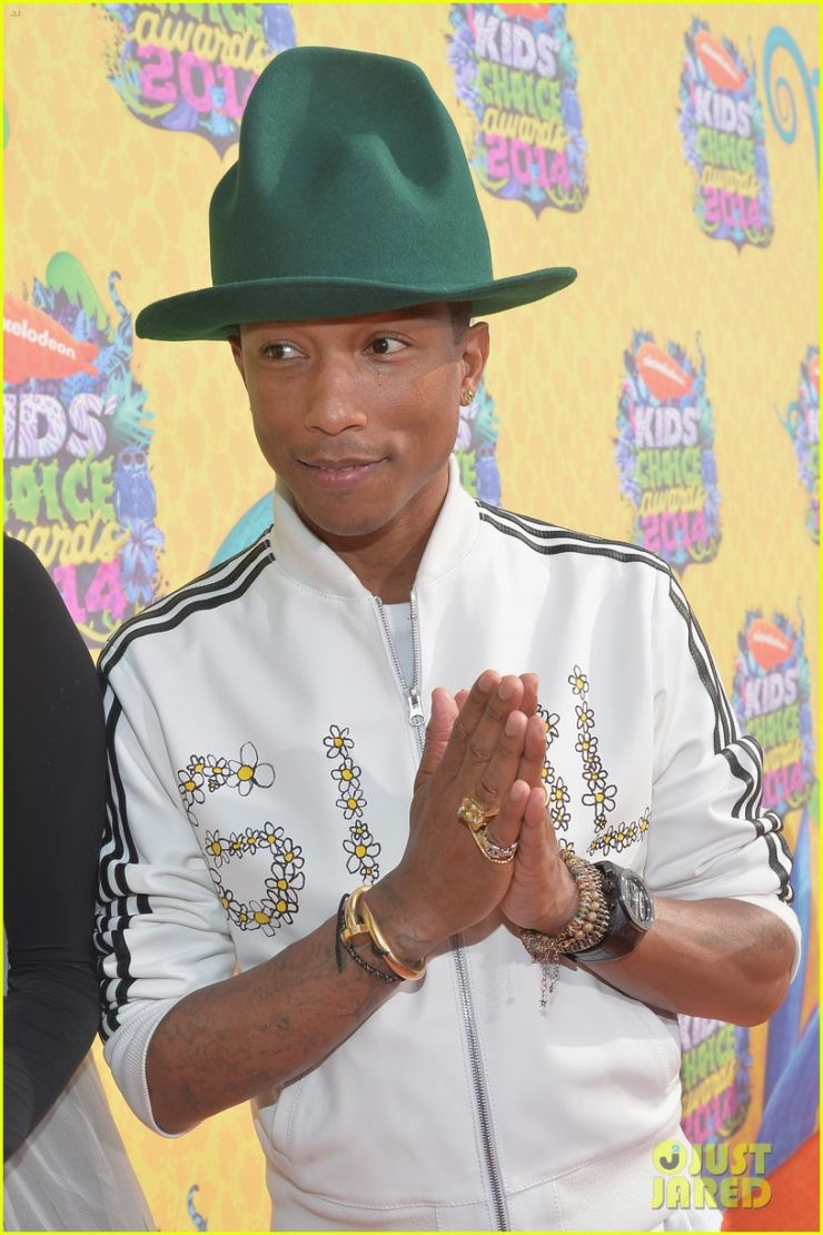 Pharrel Williams confirmado no Lollapalooza 2015