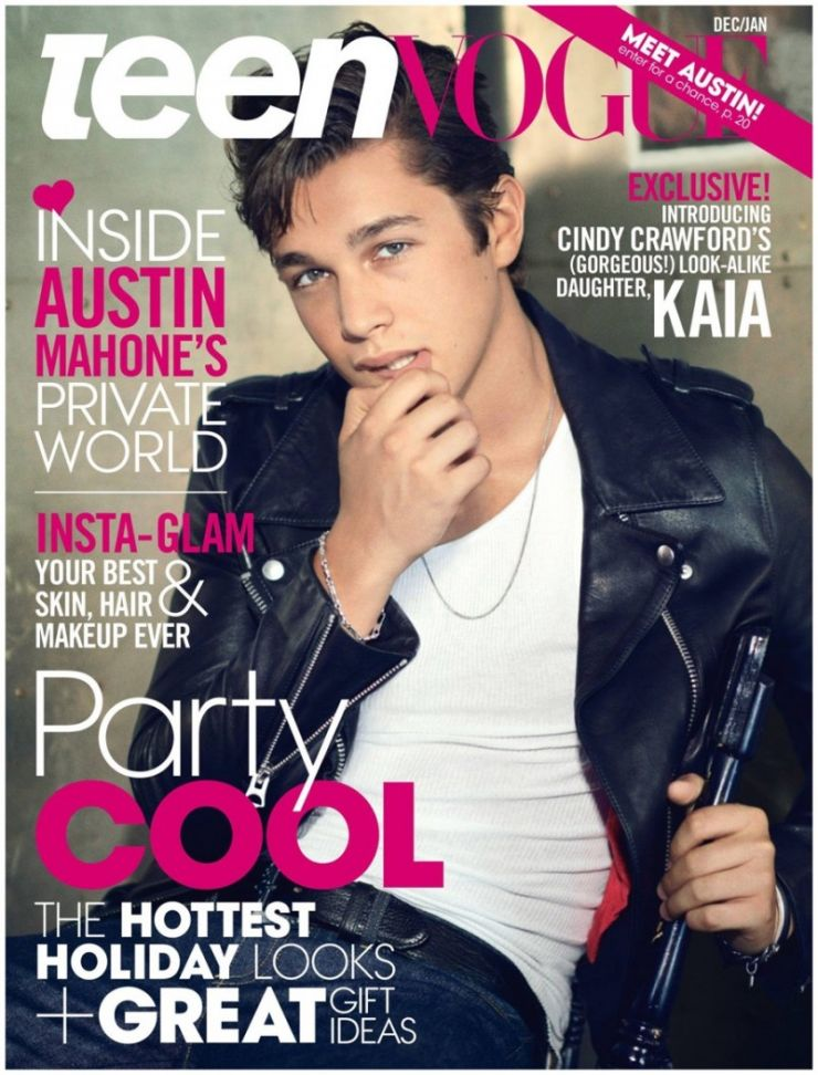 """Austin Mahone será capa da próxima edição da revista """"Teen Vogue"""""""