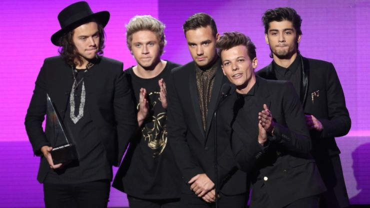 One Direction vence prêmio principal do AMA
