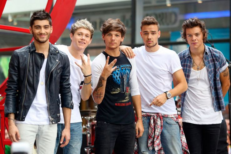 One Direction consegue marca histórica na Billboard