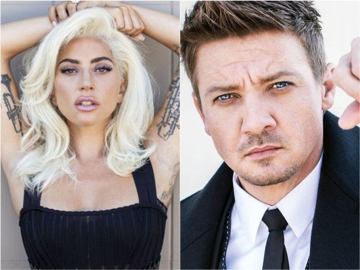 """Lady Gaga estaria muito """"próxima"""" de ator Jeremy Renner"""
