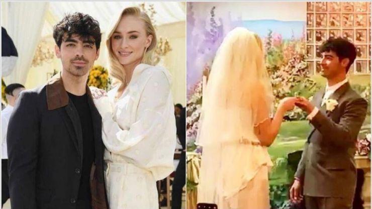 Joe Jonas e Sophie Turner se casam em Las Vegas
