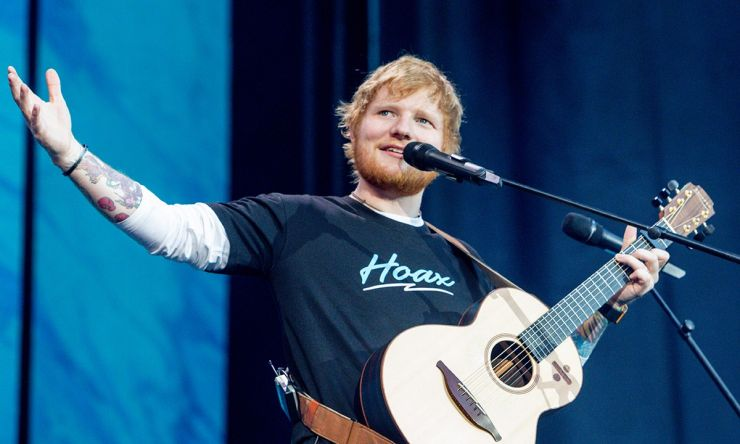 Ed Sheeran divulga convidados para novo disco