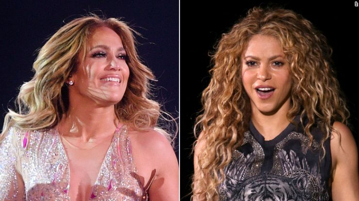 Jennifer Lopez e Shakira farão show do Super Bowl 2020