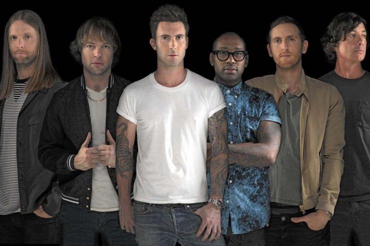 Maroon 5 consegue igualar marca dos Rolling Stones na Billboard