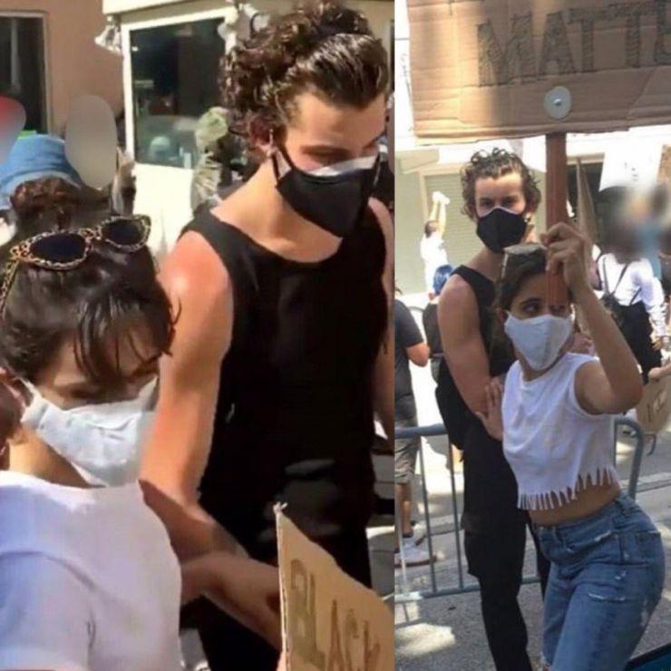 Ariana Grande, Shawn Mendes e Camila Cabello participam de manifestações contra o racismo