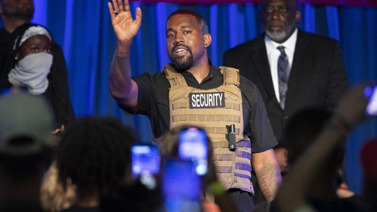 Kanye West já teve mais de 60 mil votos para presidência dos EUA