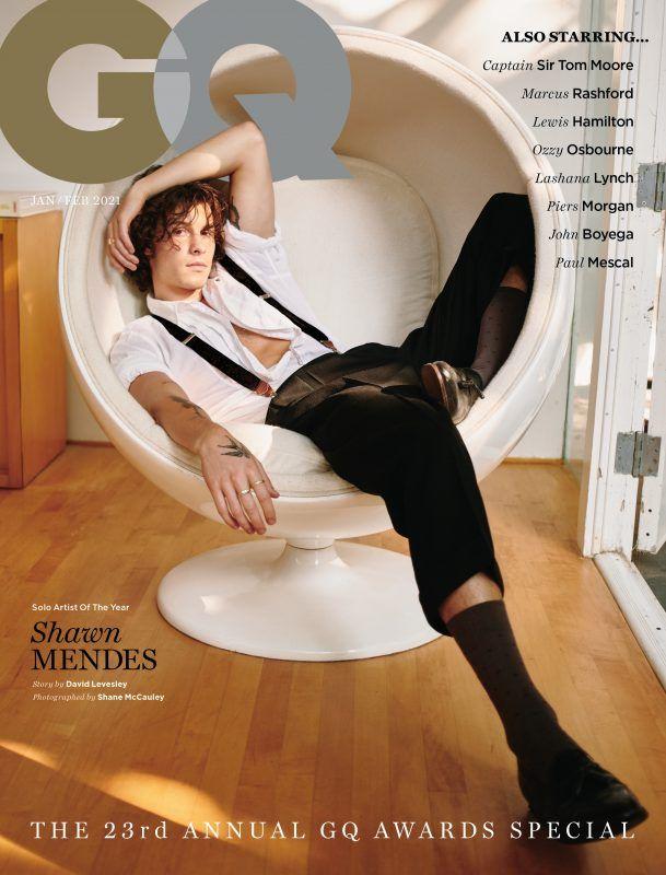 Shawn Mendes é eleito artista solo do ano pela revista QG