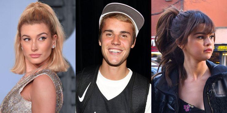 Justin e Hailey Bieber e Selena Gomez estariam causados de rivalidade