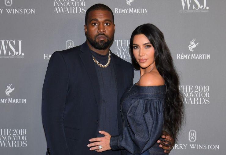 Kanye West não estaria lidando bem com separação de Kim Kardashian