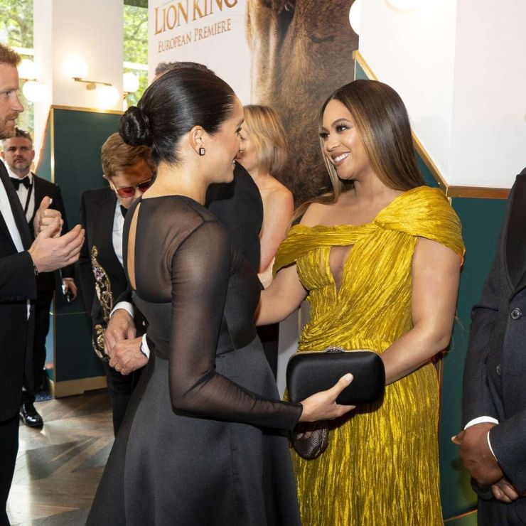 Beyoncé agrade Meghan Markle pela entrevista à Oprah Winfrey
