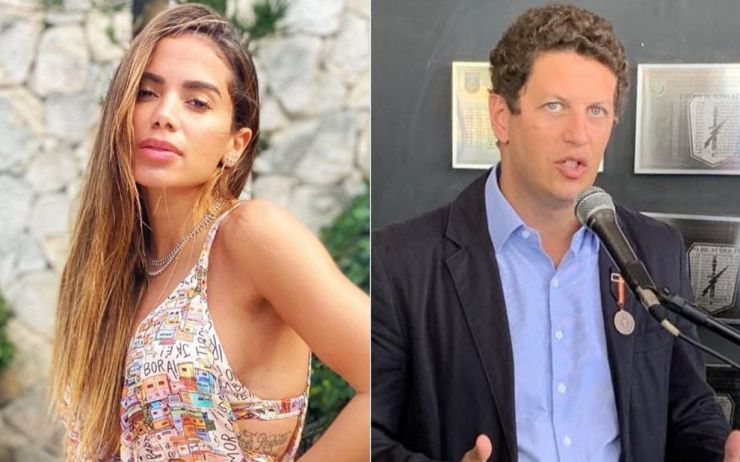 Anitta e Ministro do Meio Ambiente trocam farpas pelo Twitter