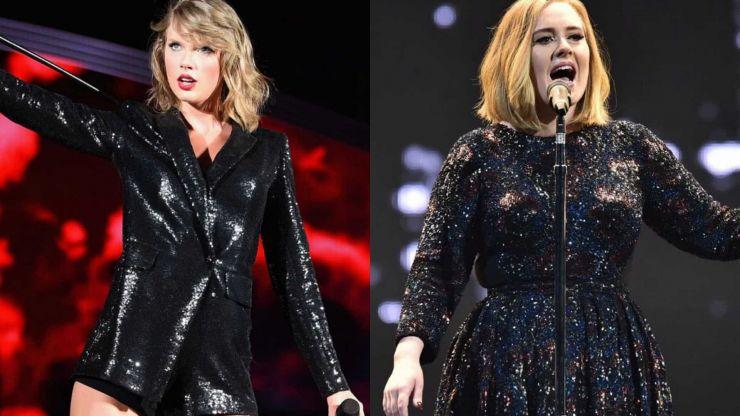 Adele e Taylor Swift registraram músicas juntas