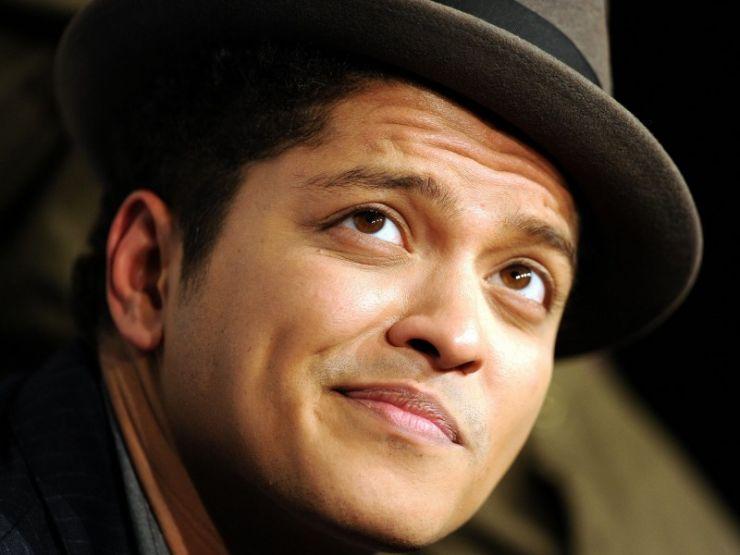 Bruno Mars está trabalhando em um novo álbum