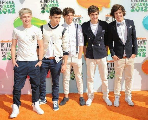 One Direction é o grande vencedor do Kid's Choice Awards