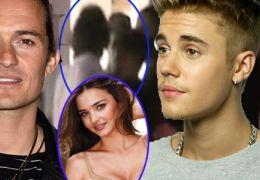 Depois da confusão, Justin Bieber provoca Orlando Bloom