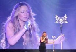 Mariah Carey desafina em show e vídeo se espalha rapidamente pela rede