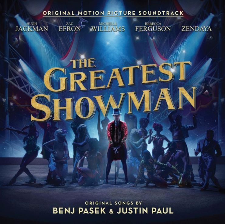 """Trilha do filme """"O Rei do Show"""" segue liderando a parada britânica"""
