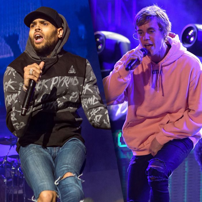 Chris Brown e Justin Bieber são envolvidos em nova polemica