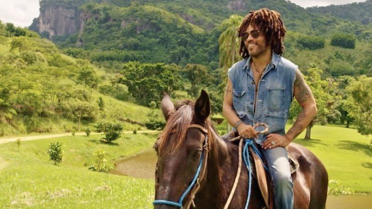 Lenny Kravitz está morando em fazenda no Rio de Janeiro
