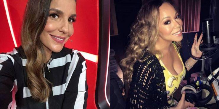Mariah Carey manda mensagem no aniversário de Ivete Sangalo