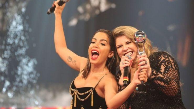 Anitta confirma parceria com Marília Mendonça