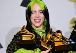 Billie Eilish é a grande vencedora da 62ª edição do Grammy