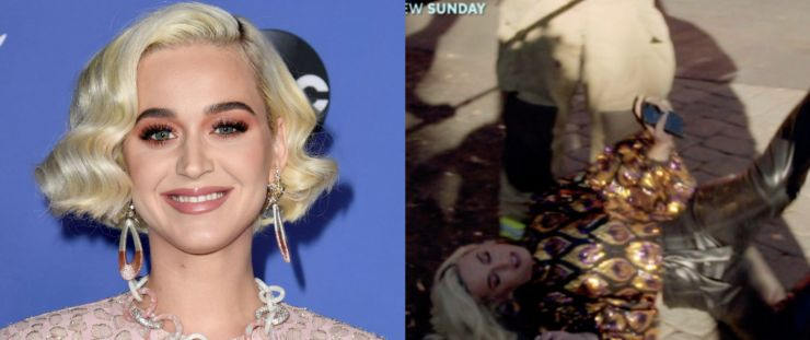 Katy Perry desmaia durante gravações do American Idol