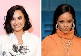 """Demi Lovato afirma """"querer ficar"""" com Rihanna"""