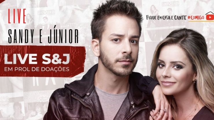 Sandy & Junior atinge pico de 2,6 milhões de espectadores na live