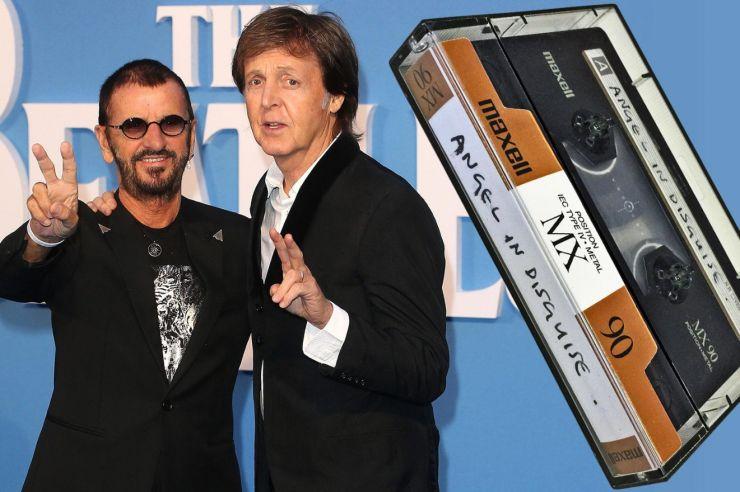 Gravação inédita de ex-Beatles será vendida em leilão