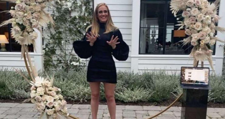 Adele posta primeiro foto depois de transformação corporal