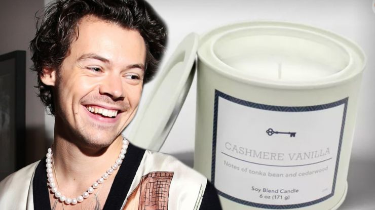 Velas com cheiro de Harry Styles esgotam nos EUA