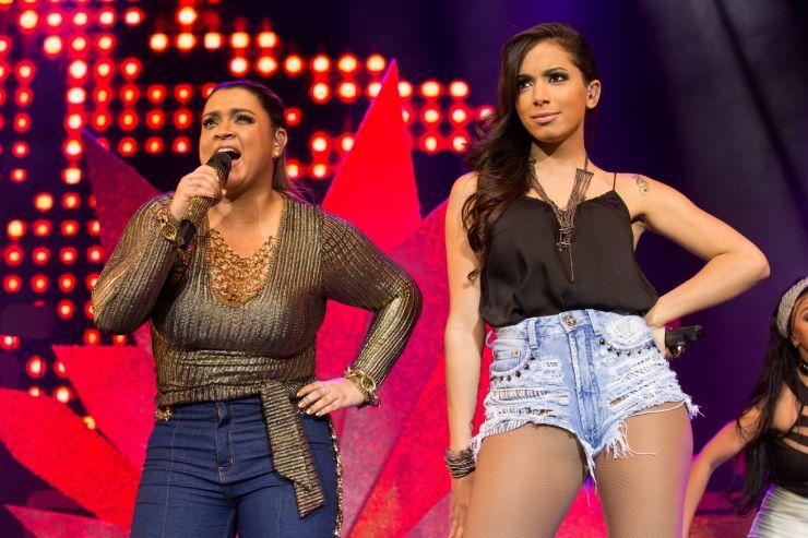 Preta Gil responde áudios vazados de Anitta