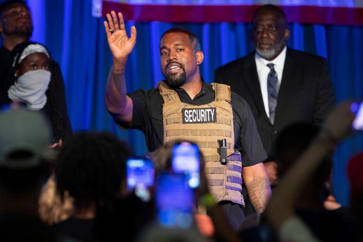 Kanye West confirma interesse na disputa presidencial dos EUA