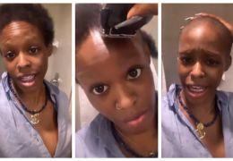 Azealia Banks posta vídeo raspando o cabelo