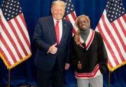 Lil Wayne ganha perdão presidencial de Donald Trump