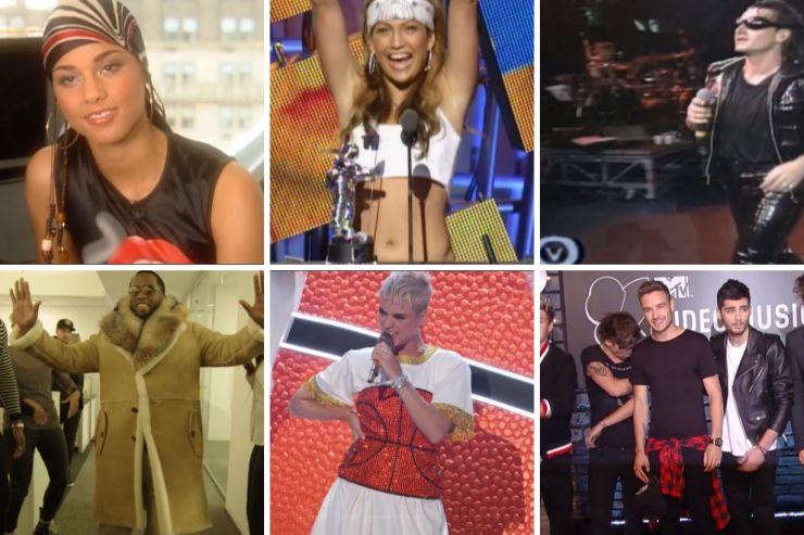 MTV estreia série com momentos icônicos de estrelas da música