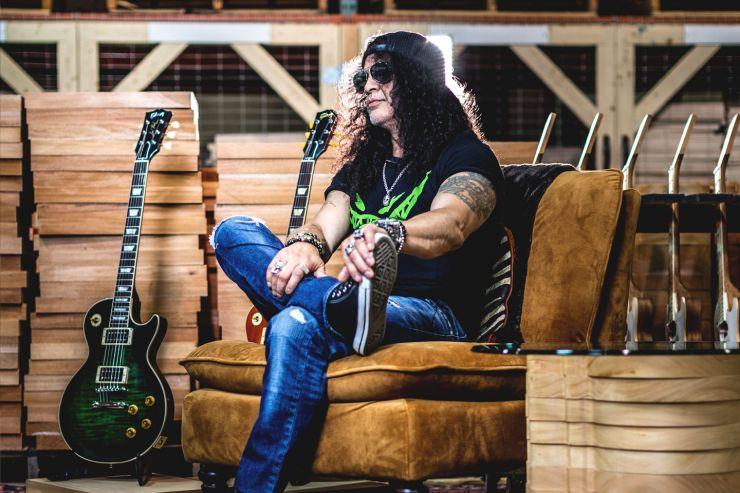 Slash vai lançar primeiro álbum pela Gibson Records